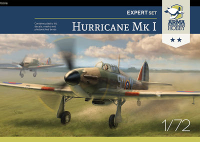 Hurricane Expeet Set 1/72